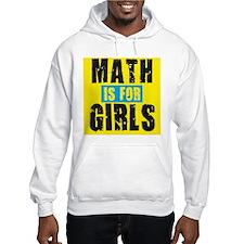 Math for girls Hoodie