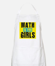 Math for girls BBQ Apron