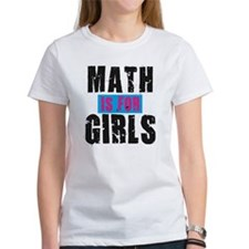 Math for girls Tee
