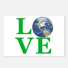 Love Earth Postcards (Package of 8)