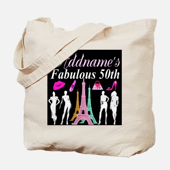 50TH PARIS Tote Bag