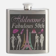 50TH PARIS Flask