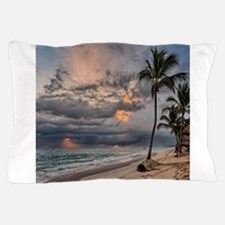 Palms At Sunset Pillow Case
