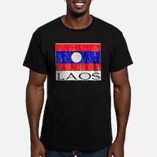 Cute Laos flag T
