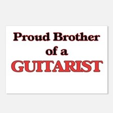 Proud Brother of a Guitar Postcards (Package of 8)