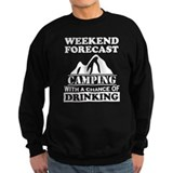 Funny drinking Sweatshirt (dark)