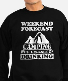 Camping with a chance of drinking Jumper Sweater