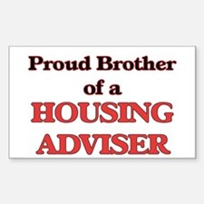 Proud Brother of a Housing Adviser Decal