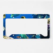 Sea Life License Plate Holder