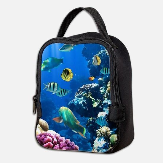 Sea Life Neoprene Lunch Bag