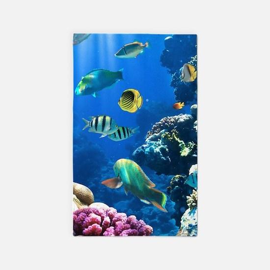 Sea Life Area Rug