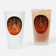 Cute Discs Drinking Glass