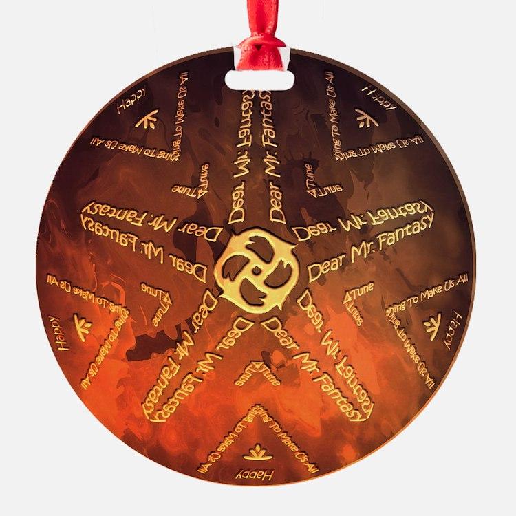 Cute Steve Ornament