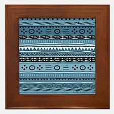 Shango Tribal Framed Tile