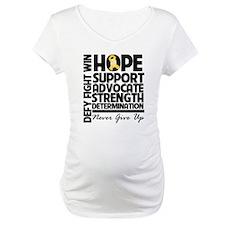 Hope Gold Awareness Ribbon Shirt