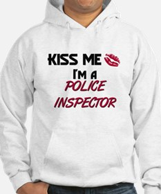 Kiss Me I'm a POLICE INSPECTOR Jumper Hoody
