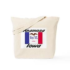Anamosa Iowa Tote Bag