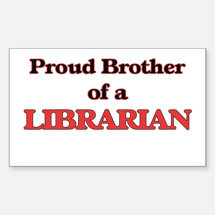 Proud Brother of a Librarian Decal
