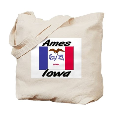 Ames Iowa Tote Bag