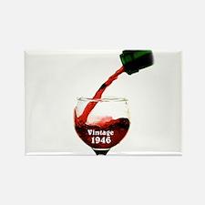 Vintage 1946 Wine 70th Magnets