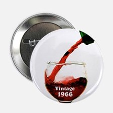 "Vintage 1966 Wine 50th 2.25"" Button (10 pack)"