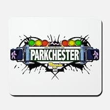 Parkchester (White) Mousepad