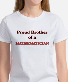 Proud Brother of a Mathematician T-Shirt