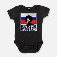 Cute Black russian Baby Bodysuit