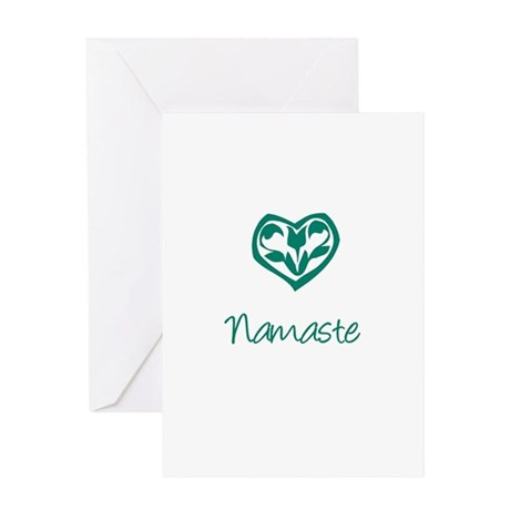 Namaste, Yoga Greeting Card