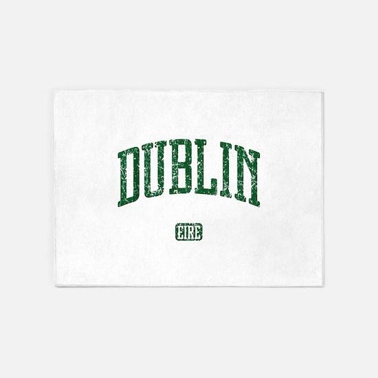 Dublin Ireland Eire - Irish St Patricks Day 5'x7'A