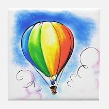 Hot Air Balloon Tile Coaster
