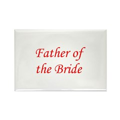 Father of the Bride Rectangle Magnet (10 pack)