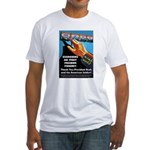Itchy Inky Finger Fitted T-Shirt