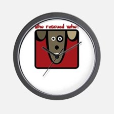 who rescued who? Wall Clock