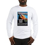 Itchy Inky Finger Long Sleeve T-Shirt