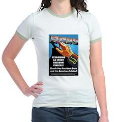 Itchy Inky Finger Jr. Ringer T-shirt