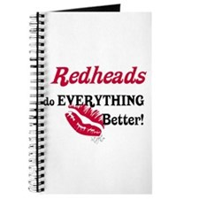 Redheads do EVERYTHING better Journal