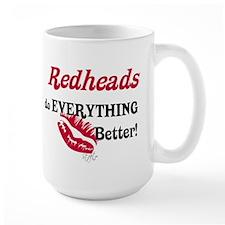 Redheads do EVERYTHING better Mug