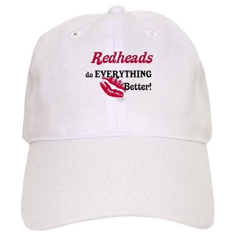 Redheads do EVERYTHING better Cap