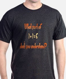 What Part don't understand? T-Shirt