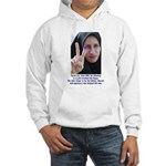 Two Fingers Thanks USA Hooded Sweatshirt