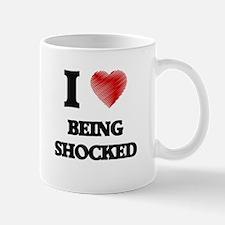 being shocked Mugs