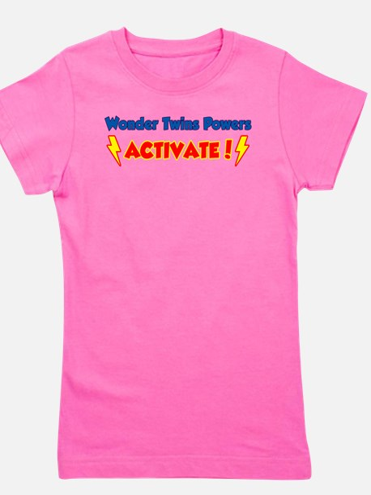 Wonder Twins Powers Activate! T-Shirt