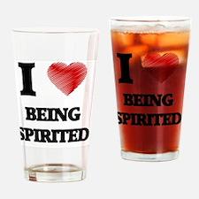 being spirited Drinking Glass