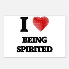 being spirited Postcards (Package of 8)
