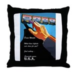 Dear World Throw Pillow