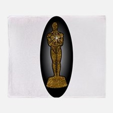 oscar academy award Throw Blanket