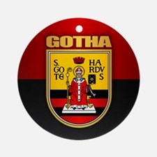 Gotha Round Ornament