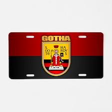 Gotha Aluminum License Plate