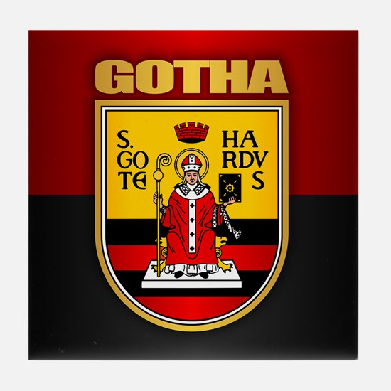 Gotha Tile Coaster